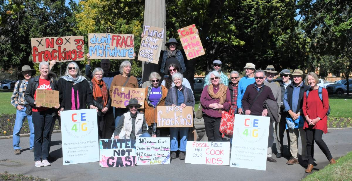 ACTION NEEDED: Protesters gathered at Belmore Park to urge the government to act on climate change. Photo: Hannah Neale