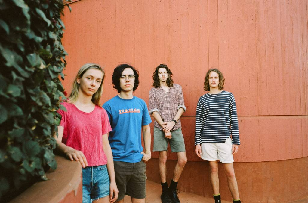 SHINING BRIGHT: Perth rockers Spacey Jane are, from left, Peppa Lane, Kieran Lama, Ashton Le Cornu and Caleb Harper. Picture: Daniel Hilderbrand