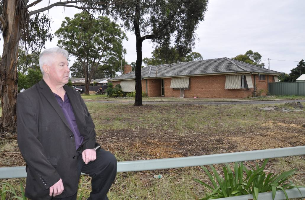 KEEPING CHARACTER: Former Rex Street resident Darren Churchill argues neighbourhoods in regional areas like Goulburn will lose their character unless the state's complying development laws are overhauled. Photo: Louise Thrower.