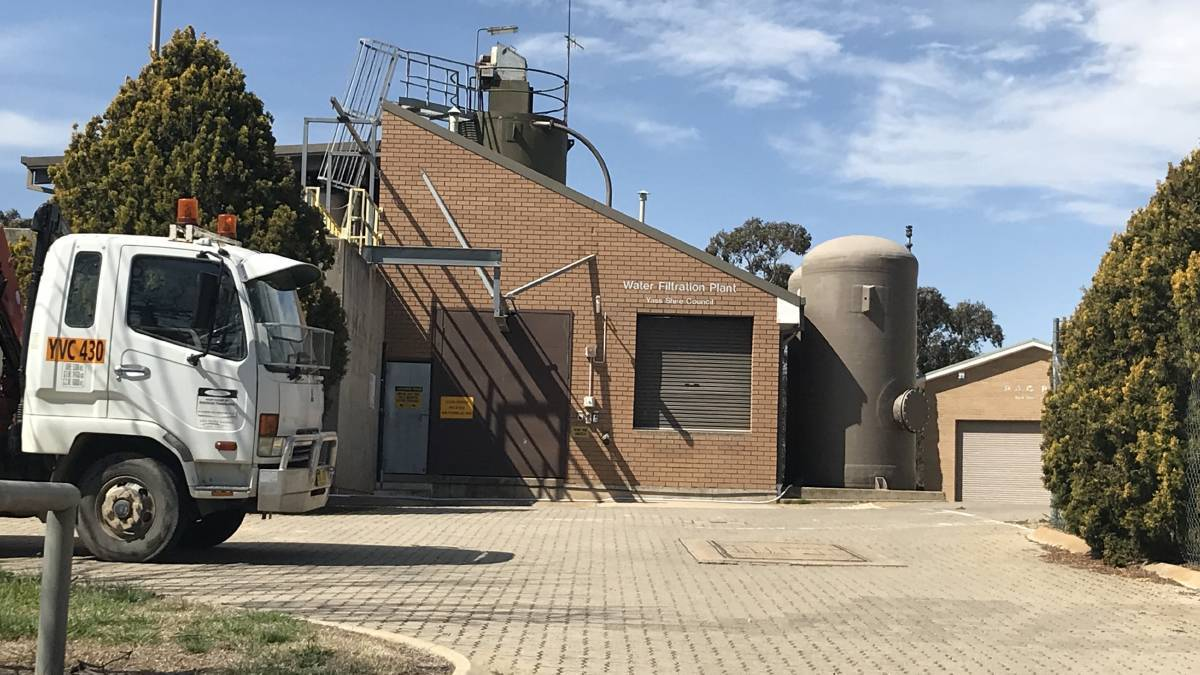 safe to drink: The treatment process in the Yass Water Treatment Plant has been