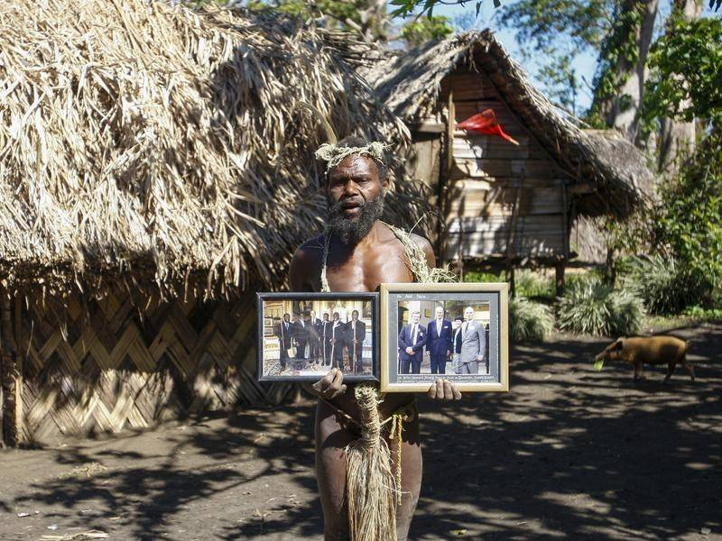 Britain's Prince Philip was idolised on the island of Tanna in Vanuatu.