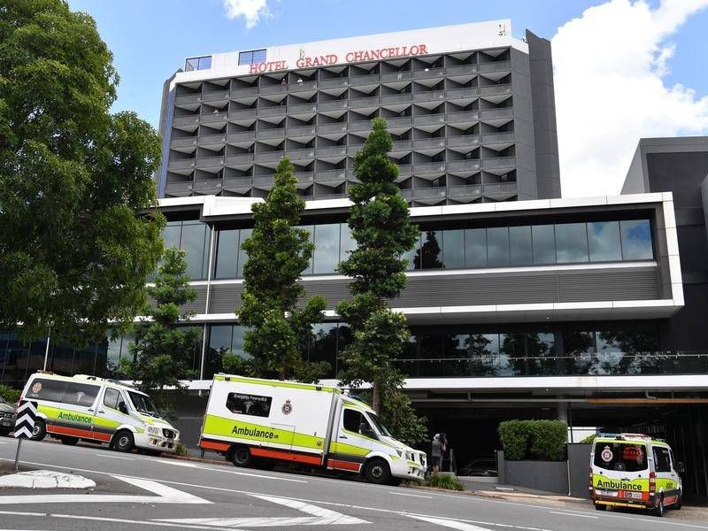 There is still concern about those who completed quarantine in Brisbane's Hotel Grand Chancellor.